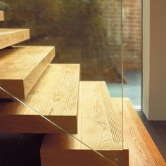 Element 7 |  exceptionally engineered wide plank floors | Fine Oak - floor matching - fluted floating stairs