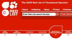 IUCN Red List of Threatened Species: http://www.iucnredlist.org/