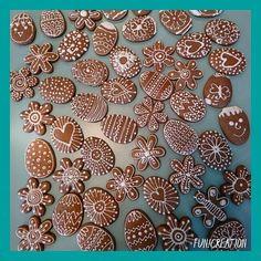 Fancy Cookies, Cookie Decorating, Gingerbread, Cupcake, Xmas, Holiday, Food, Crack Crackers, Easter Activities