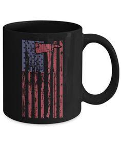 Cool black coffee mug.