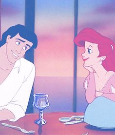 I want a love like Ariel and Eric's <3