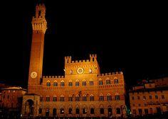 Siena by night - Tuscany, Italy