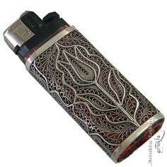Telkari Gümüş Çakmak Letter Case, Silver Filigree, Metal Clay, Cluster Ring, Metal Jewelry, Lighter, Bling, Jewels, Sterling Silver