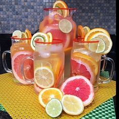 Grapefruit + Orange + Lemon + Lime