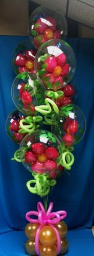 Gorgeous balloon bouquet. I wonder how long it took to create this!
