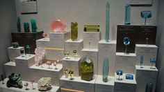 gem and mineral case display best of show - Google Search
