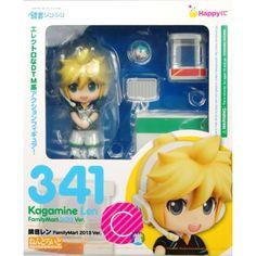Nendoroid vocaloid len kagamine Familymart version