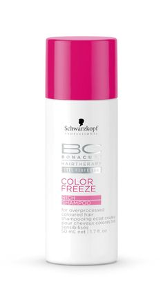 Schwarzkopf Professional BC Hairtherapy Cell Perfector Color Freeze Rich Shampoo 50ml.