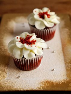 Red Velvet Cupcakes/レッドベルベット・カップケーキ #recipe #cupcakes