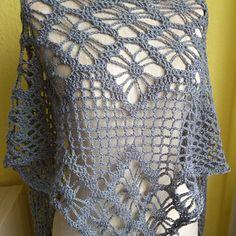 Šátek květiny Crochet Top, Shopping, Tops, Women, Fashion, Tejidos, Moda, Women's, Fashion Styles