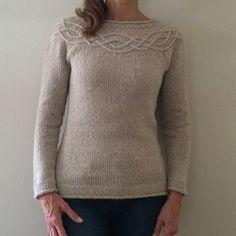 Tucker Sweater pattern by Amanda Scheuzger