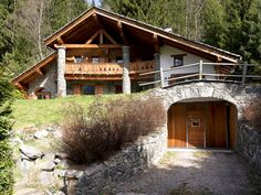 the country house in Chalet style