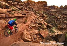 Top 5 Moab Mountain Bike Trails Top 5 Moab mountain bike trails by Sacred Rides Mountain Bike Adventures Mountain Biking Quotes, Mountain Biking Women, Riding Mountain, Best Mountain Bikes, Mountain Bike Trails, Mtb Trails, Bicycle Maintenance, Top 5, Bicycles
