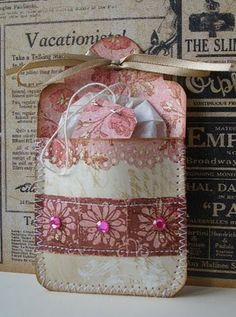 Jacqueline's Craft Nest: Tea pocket cards