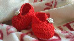 Buciki dla córeczki kuzynki