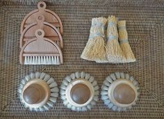 Iris Hantverk brushes from Olmay Home