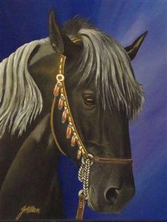 Black Horse - Artist Daily