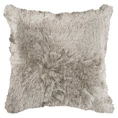 Shayla Pillow in Feather Gray at Joss & Main