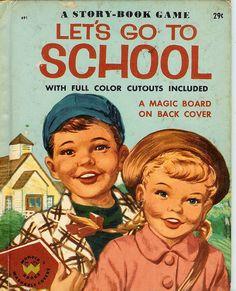 Lets Go To School - Wonder Book