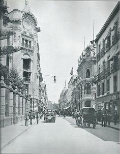 Avenida San Francisco, Cd de México, 1910.