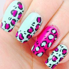 @OhMyGoshPolish  Leopard Print: @Cristie Black Engelage pOlish Honey Dew and @sinfulcolorsprofessional Dream On.