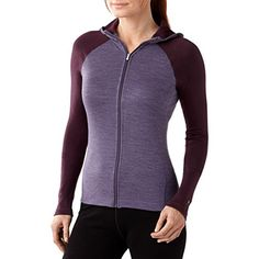 Smartwool Womens NTS Mid 250 Full Zip Hoody Desert Purple Heather Medium * Learn more by visiting the image link.(This is an Amazon affiliate link)
