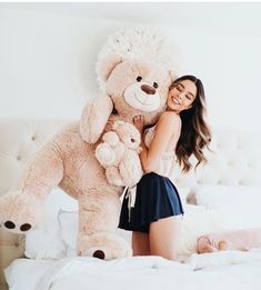 「 Forever wishing Lou would let me hold him like this and accept my love.I guess this bear will… 」 Teddy Bear Pictures, Bear Photos, Girl Photos, Teddy Photos, Huge Teddy Bears, Giant Teddy Bear, Teddy Girl, Cute Girl Poses, Cute Girls
