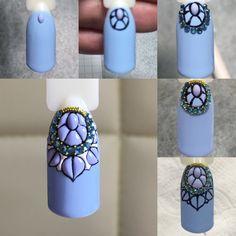 """Небольшой МК """"Сладкого цветения"""" с инкрустацией.  #люксиоекб #маникюрекб #салонманикюра #люксио #luxio #свитблюм #свитблюмекб #sweetblooms #sweetbloom #мк #мастеркласс #мастерманикюраекб"""