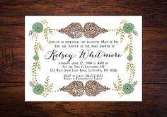 From Our Hearts To Yours  Bohemian Baby Shower by WrittenInDetail