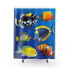 Voici ce que je viens d Sphynx, Sculptures, Curtains, Shower, Etsy, Prints, Tropical Fish, Rain Shower Heads, Blinds