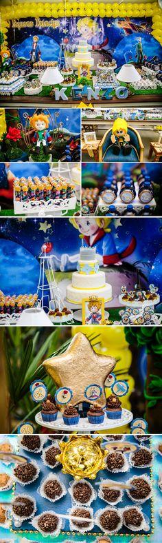 #littleprince #lepetitprince #pequenoprincipe little prince kids party decor