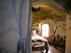 Safari Bedroom | turret bedroom known as the safari bedroom clients provided theme ...