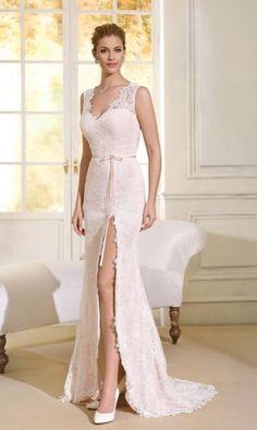 Featured Dress: Novia D'Art; Wedding dress idea.