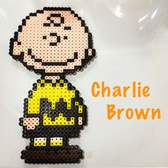 Charlie Brown perler beads by cestunnez