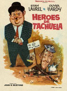 168.  JANO. Héroes de tachuela. Dirigida por John G. Blistone. Valencia: Mirabet, [1938]. #ProgramasdeMano #BbtkULL #Diseñadores #Jano #DiadelLibro2014