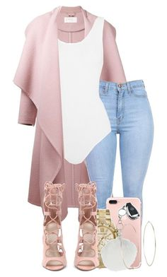 A fashion look from March 2016 by ayepaigee featuring Chloé, Yummie by Heather Thomson, MICHAEL Michael Kors, Michael Kors, Miss Selfridge and Mercedes-Benz Swag Outfits, Mode Outfits, Classy Outfits, Stylish Outfits, Fall Outfits, Cardigan Outfits, Dress Outfits, Summer Outfits, Pink Cardigan