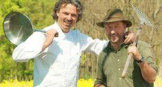 Bernd Simon und Peter Scharff l Kräuterexperten Foto: Uli Sapountsis