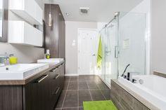 Corner Bathtub, Interior Design Living Room, Saint, Bathroom Ideas, Architecture, Home Decor, Kitchen, Contemporary Teal Bathrooms, Bathroom Modern
