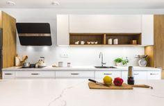 kuchyně Slim white gloss