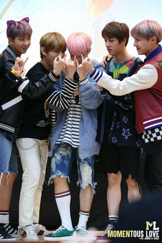 [170224] BTS @Myeongdong Fansign 방탄소년단 | Bangtan Boys