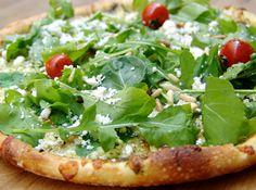 Pizza de Panela de Pressão super leve! #pizza #vegan #inspiration #food #italian #inspiracao #tomato #tomatecereja #receita #cybercook