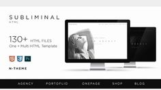 Subliminal theme. Super awesome and multi purpose template. http://subliminal.n-themecreator.com