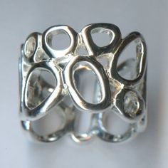 Gorgeous sterling silver ring. Available at Argo & Lehne Jewelers.