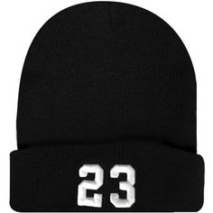 23 3D Puff Cuffed Beanie Hat Hip Hip Dope Beanies Cap Number 23 3D... ($13) ❤ liked on Polyvore featuring accessories, hats, black beanie hat, black cap, black beanie, beanie cap and beanie cap hat