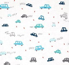 Dear Stella On My Way Vroom Multi from Designed for Dear Stella Designs, this cotton fabric is perfect for quilting, apparel and home decor accents. Colors include shades of blue, grey, red-orange and white. Vintage Flowers Wallpaper, Flower Background Wallpaper, Cute Patterns Wallpaper, Kids Wallpaper, Nursery Fabric, Nursery Prints, Car Fabric, Blue Fabric, Cotton Fabric