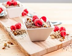 This chocolate chia protein pudding recipe is perfect for breakfast, dinner or dessert. Packed with protein and chocolate flavor, this recipe is a keeper!