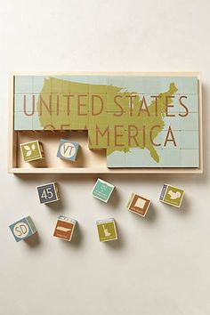 USA Blocks. And who will make one of the world? I need one!