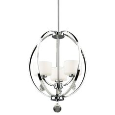 Shop Artcraft Lighting AC10033CH Piccadilly 3-Light Foyer Pendant at Lowe's…