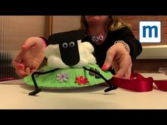 Quick and easy Shaun the Sheep Easter bonnet video