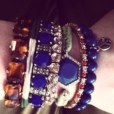 Arm Candy - J. Crew, Gap, and Anthropologie Bracelets